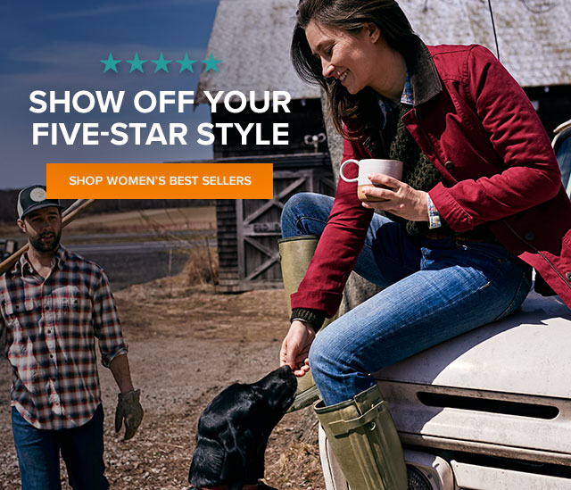 SHOW OFF YOUR FIVE-STAR STYLE