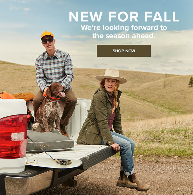 NEW FOR FALL We're looking forward to the season ahead.