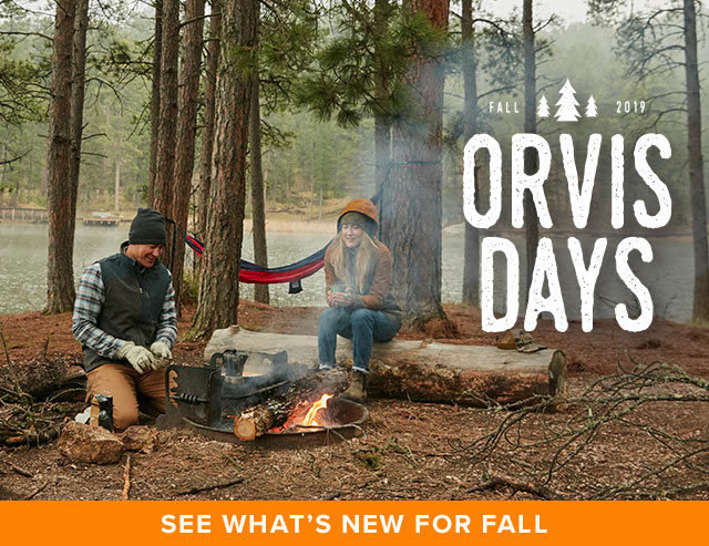 FALL ORVIS DAYS See What's New for Fall