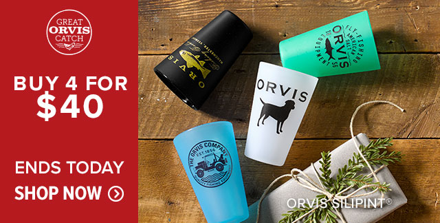 ORVIS SILIPINT® BUY 4 FOR $40 ENDS TODAY