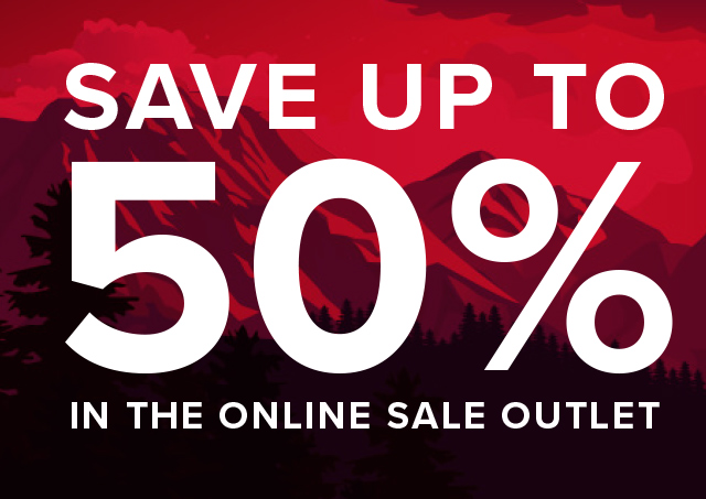 """SAVE UP TO 50% IN THE ONLINE SALE OUTLET """